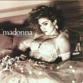Madonna in her Like A Virgin Bride Wedding Outfit
