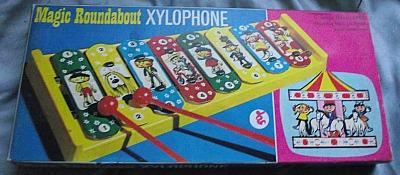 Magic Roundabout Xylophone Toy
