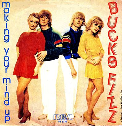 Bucks Fizz - Making Your Mind Up - single sleeve front