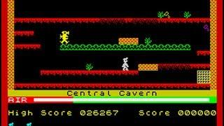 Manic Miner - ZX Spectrum first level
