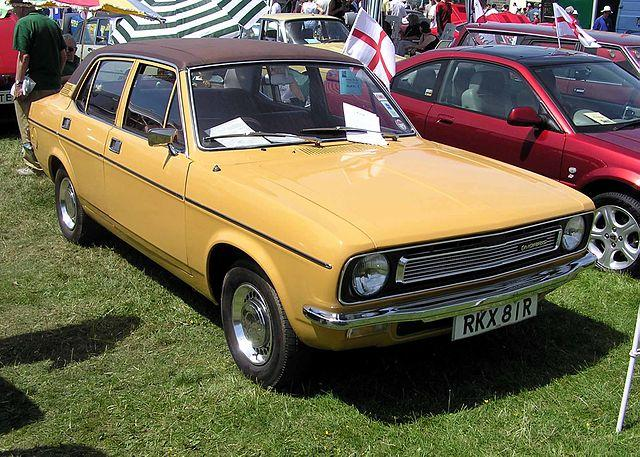 1976 Morris Marina at Bristol Car Show