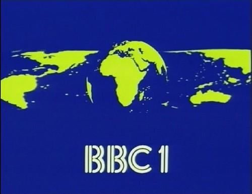 BBC1 mirror globe ident 1981 to 1985