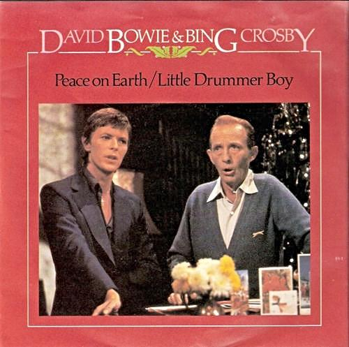 David Bowie and Bing Crosby - Peace on Earth / Little Drummer Boys vinyl single