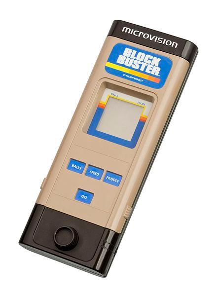 Milton Bradley (MB) Microvision handheld games console