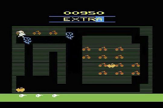 Mr. Do! Atari 2600 screenshot