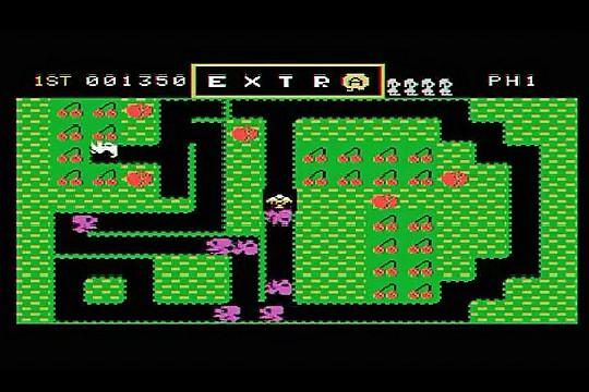 Mr. Do! Colecovision screenshot