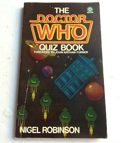 The Doctor Who Quiz Book 1981 by Nigel Robinson