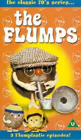 The Flumps VHS cassette