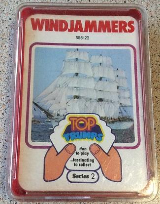 Top Trumps Series 2 - Windjammers