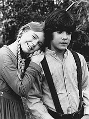 Matthew Laborteaux and Katy Kurtzman in Little House On The Prairie