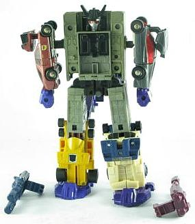 80s Transformers Toy - Menasor Robot
