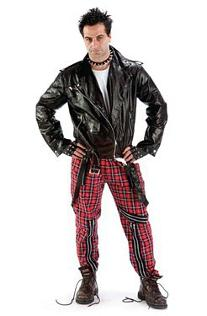 Mens Punk Fancy Dress Costumes
