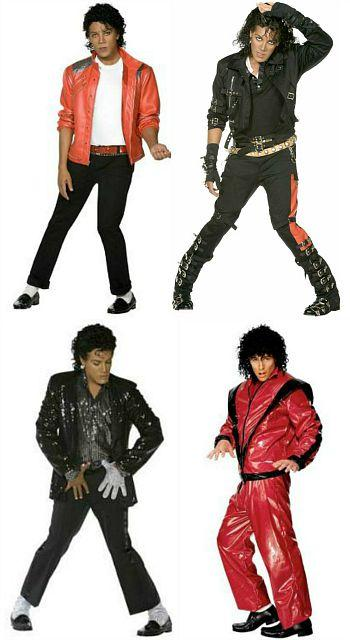 Michael Jackson 80s costume ideas for men