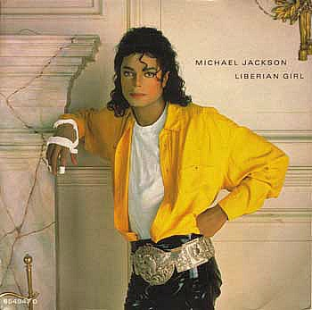 Michael Jackson - Liberian Girl single