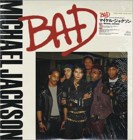 Michael Jackson - Bad single sleeve