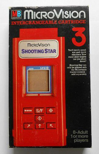 MB MicroVision Shooting Star cartridge (1979)