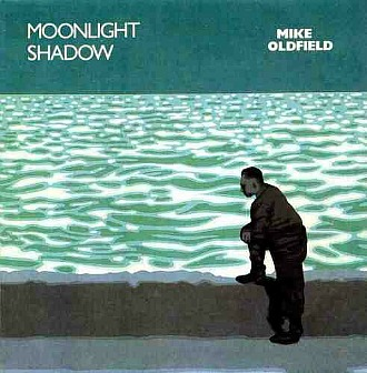 Mike Oldfield Moonlight Shadow single sleeve