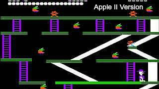 Miner 2049er on the Apple II computer
