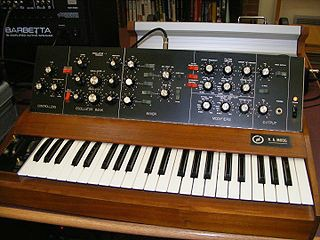 70s Synth - R. A. Moog Minimoog Model D