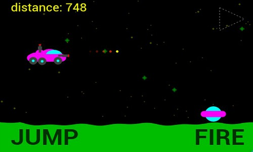 Moon Racer screenshot