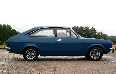 Morris Marina Coupe with alloy wheels