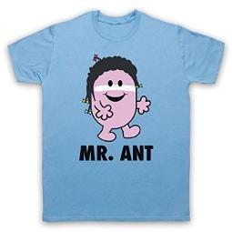 Mr. Ant (Mr. Men pardoy) Adam Ant 1980s T-shirt