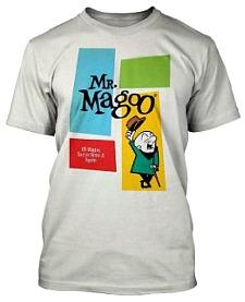 Mr. Magoo Cartoon Official T-shirt