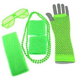 Neon 80s Party Accessory Kit - choice of colours