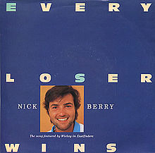 Every Loser Wins - single sleeve - Nick Berry