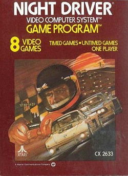 Night Driver for the Atari 2600