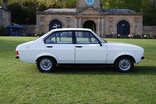 1978 Ford Escort Popular Plus 1.3 Mk2 in Diamond White - taken by John Lonergan (c)