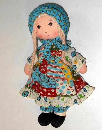 Holly Hobbie ragdoll toy 1980s