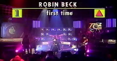 Robin Beck performing First Time on Top Of The Pops