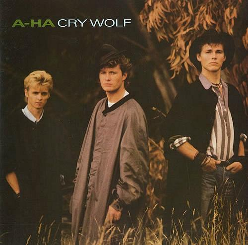 a-ha Cry Wolf vinyl single (UK) 1986 Warner