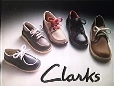 Clarks children's shoes advert 1982