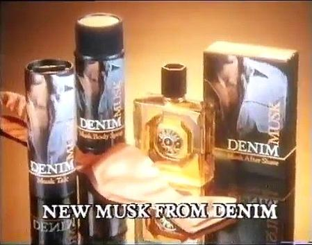 Denim Musk TV ad screenshot 1982