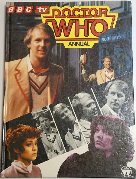 BBC TV Doctor Who Annual 1983 ft. Peter Davison