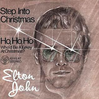 Elton John - Step Into Christmas (1973) single