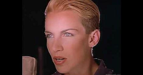 Eurythmics Sex Crime (1984) video screenshot ft. Annie Lennox