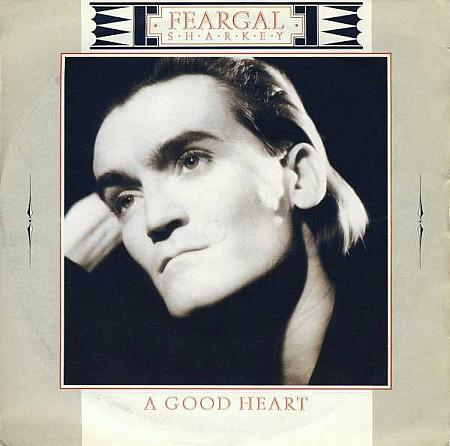 Feargal Sharkey - A Good Heart - vinyl single sleeve UK (1985)