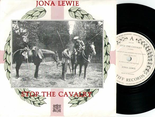 Jona Lewie - Stop The Cavalry single sleeve