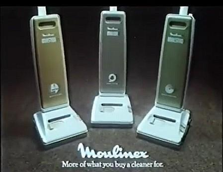 Moulinex Vacuum Cleaners advert 1982
