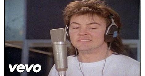 Paul Young singing in the Band Aid video 1984