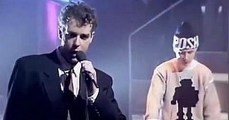 Pet Shop Boys performing Always On My Mind