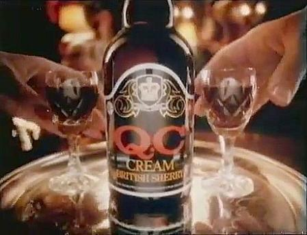 QC Cream Sherry UK Advert 1982