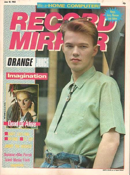 Record Mirror June 18 1983 ft. Edwyn Collins from Orange Juice