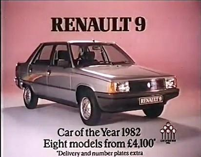 Renault 9 - 1982 advert