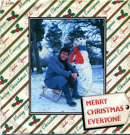 Shakin' Stevens - Merry Christmas Everyone UK 7 inch single sleeve (1985)
