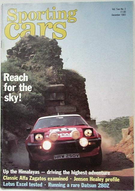 Sporting Cars magazine Dec 1983