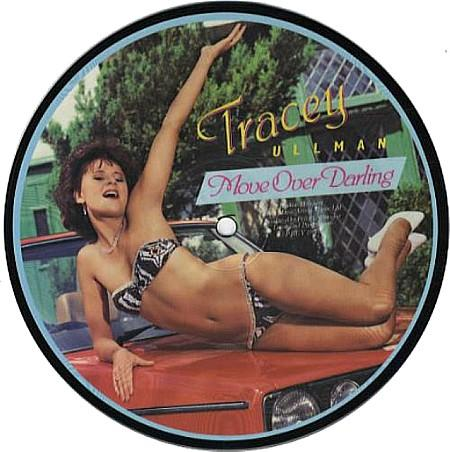 TRACEY ULLMAN Move Over Darling (1983 UK Stiff label limited edition 2-track 7 Picture Disc single